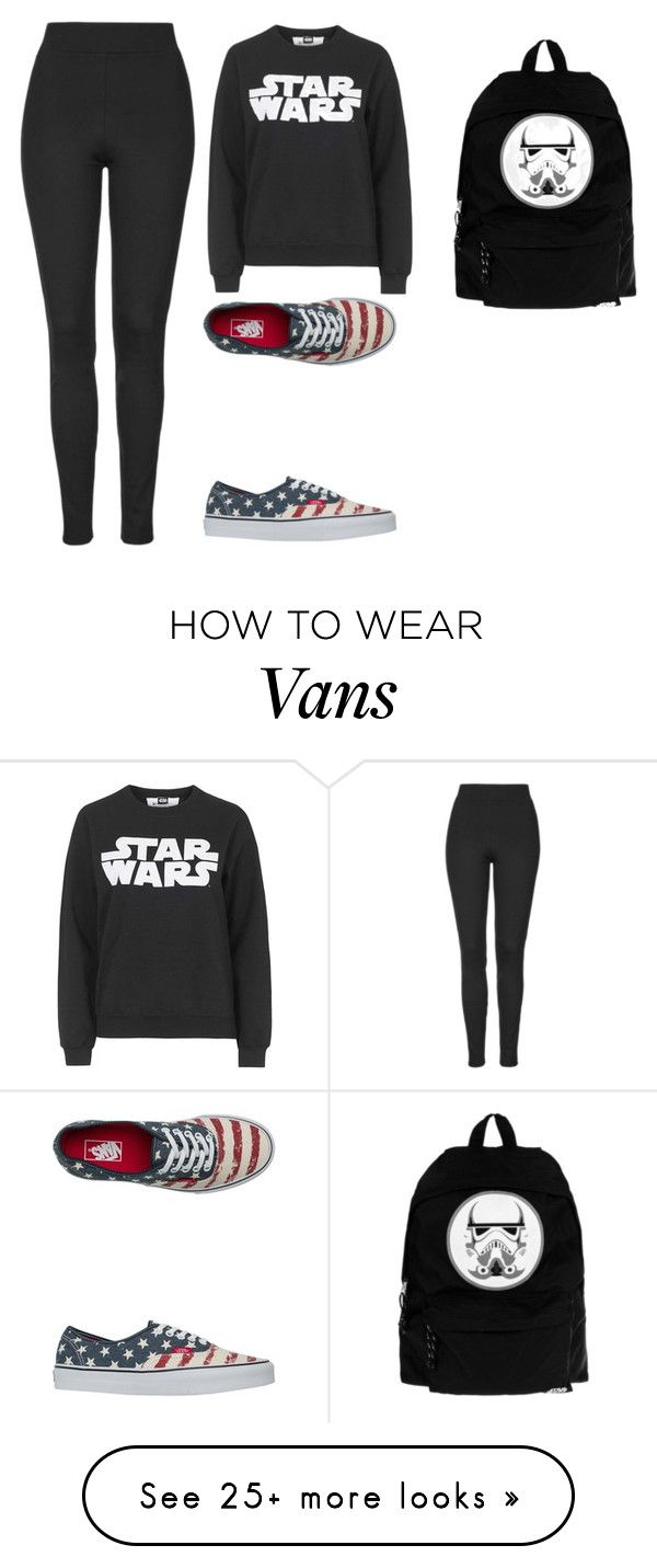 """""""Sem título #827"""" by malu-880 on Polyvore featuring moda, Tee and Cake, Topshop e Vans"""