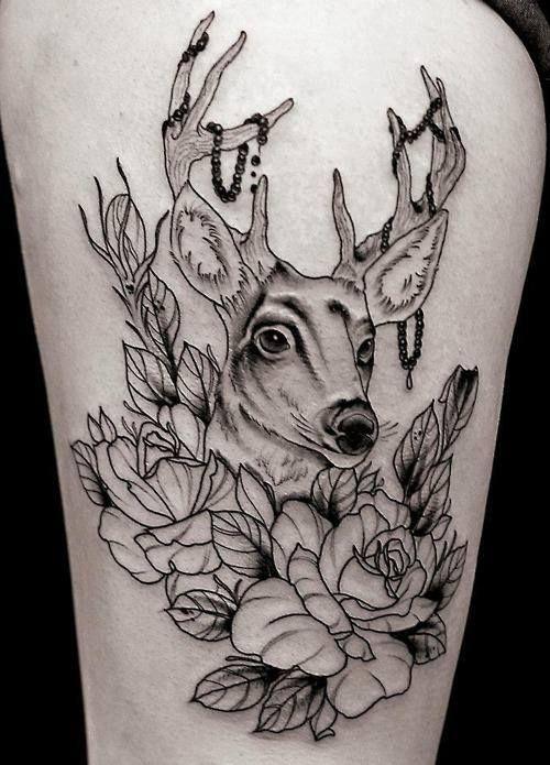 Animaux d enfant en tatouage 41 animaux tatoo et animaux - Tatouage geometrique animaux ...