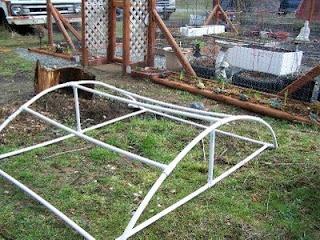 This cold frame may fit better over my raised beds   Living Self