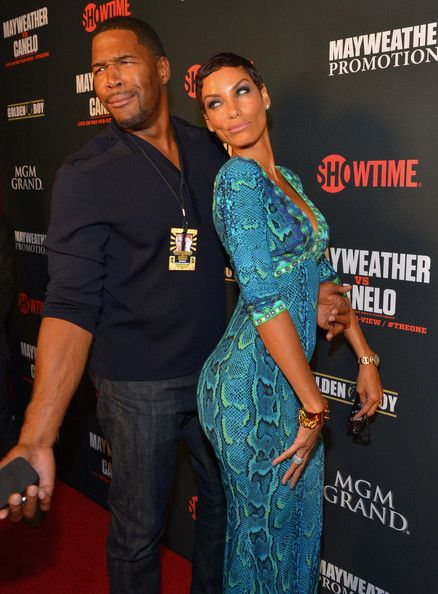 Nicole Murphy and Michael Strahan - VIP Pre-Fight Party For Showtime PPV's Presentation Of The One: Floyd Mayweather Jr. Vs. Canelo Alvarez