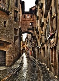Rainy Day, Huesca, Spain photo via kathryn