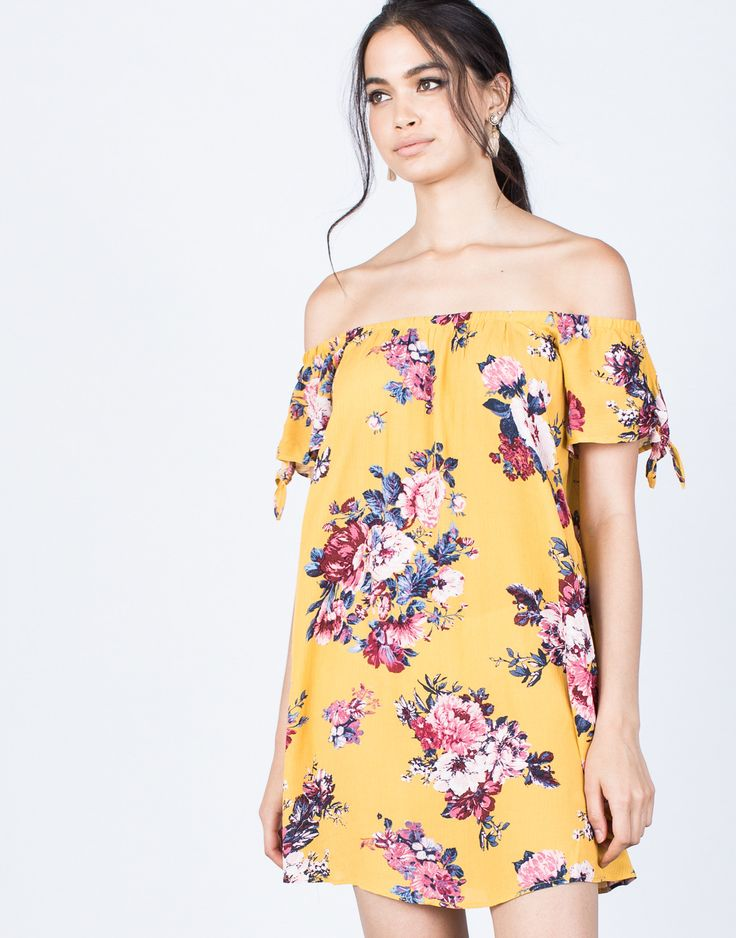 Sun-kissed Floral Dress