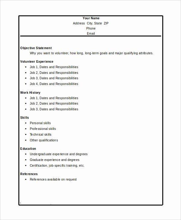 23 volunteer experience resume examples in 2020  resume