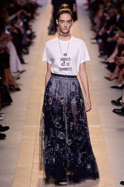 View the complete Christian Dior Spring 2017 collection from Paris Fashion Week.