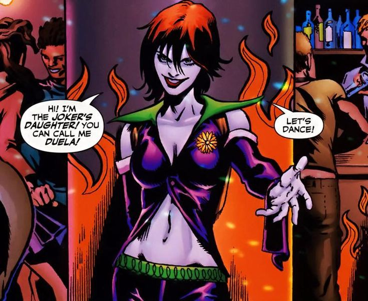 Duela Dent, The Joker's Daughter. Party option 2. | Harley ...