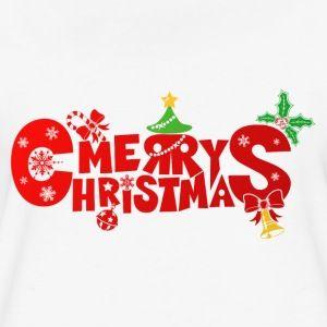 Red Merry Christmas - Women's Premium T-Shirt