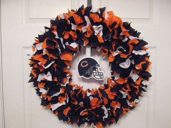 NFL: Chicago Bears Fabric Wreath