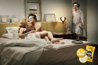 The Prudence Condom Campaign Urges Men to Be the Lover