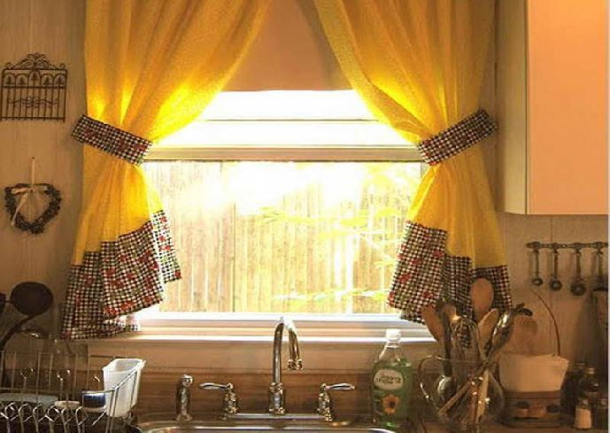 yellow kitchen curtains best 25 cheap window treatments ideas on hang 28720