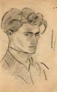 Antonin Artaud (4 september 1896 - 4 maart 1948) - Zelfportret, 1920