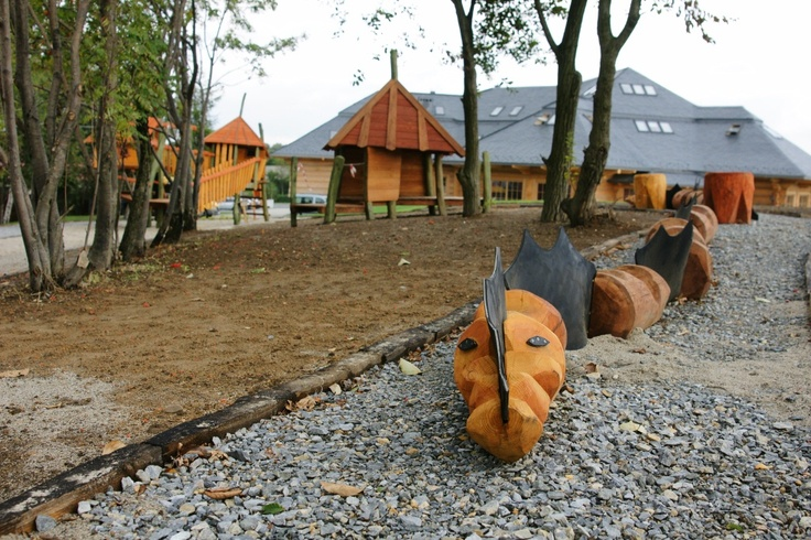 Wąż w Wiosce Trapera // Snake in the Troopers Village. Chochołowy Dwór k. Krakowa #kids #hotel #Cracow