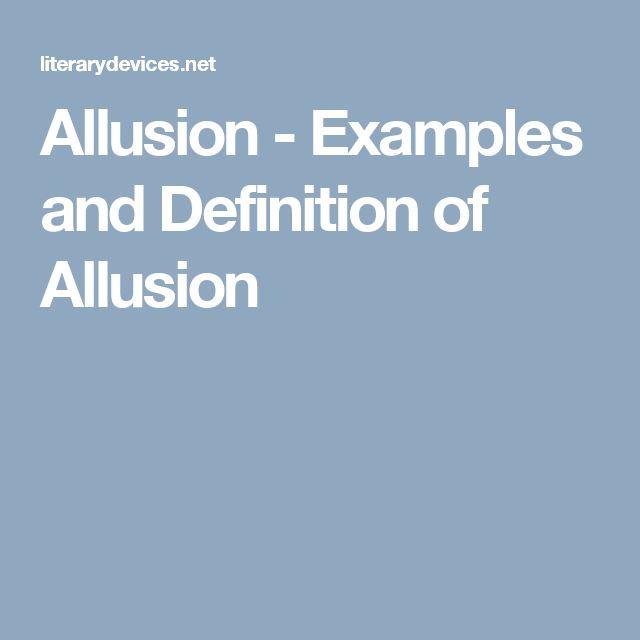 Literary Allusion Examples Golfclub