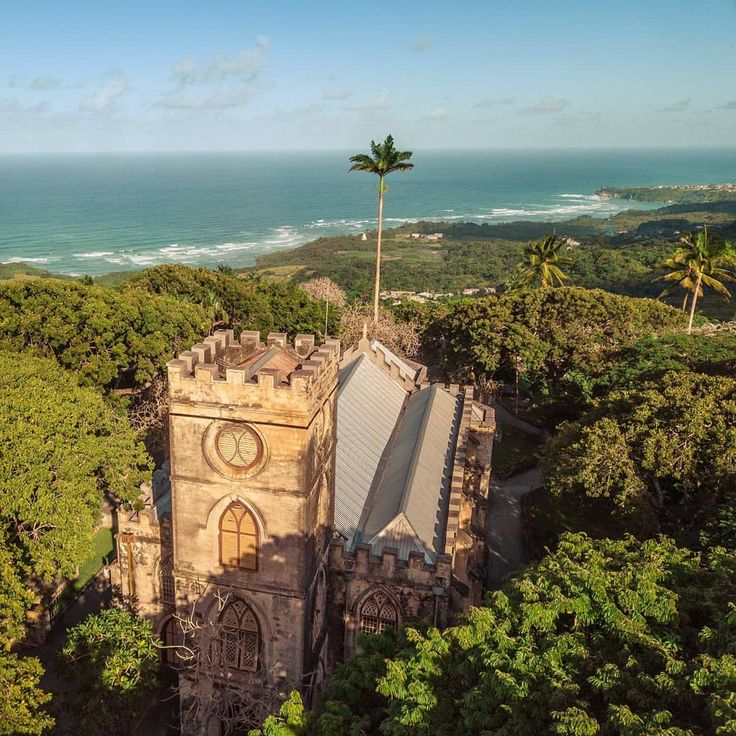 St.John's Church which offers stunning panoramic views of the east coast of Barbados