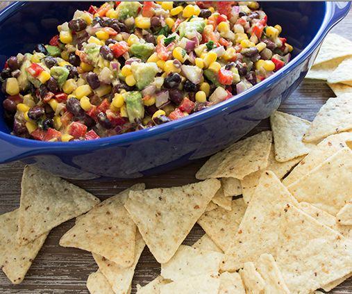 Recipe: Black Bean, Corn and Avocado Dip