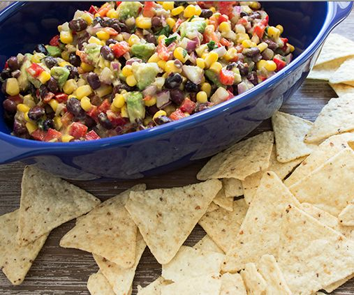 Blackbean, Corn & Avocado Dip | Skinny Mom | Where Moms Get The Skinny On Healthy Living