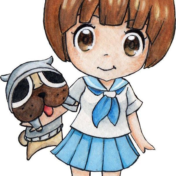 Here it is! Another #chibi from #killlakill Do you guys have any suggestions for more #chibis ? ^×^ #mako #animefan #fanart #draw #drawings #anime #traditionalartist #traditionalart #manga #instaartist #instadaily #instaartwork #instamanga #instaart #illustrator #illustration #artistoninstagram #artofinstagram #mood #romanianillustrator #romanianart #cute #Kawaii