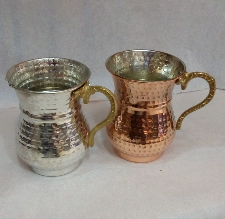 Copper cup/Hammered Copper by craftartculture on Etsy