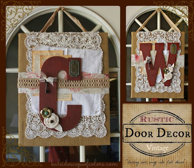31 Rustic Diy Home Decor Projects: 17 Best Ideas About Vintage Door Decor On Pinterest
