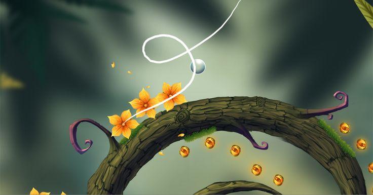 """Baum"" Game Screenshots  By A Fox Wot I Drew  #Baum #Gamedev #Indie Game #Video Games #Art #GameDesign #Design #Trees"
