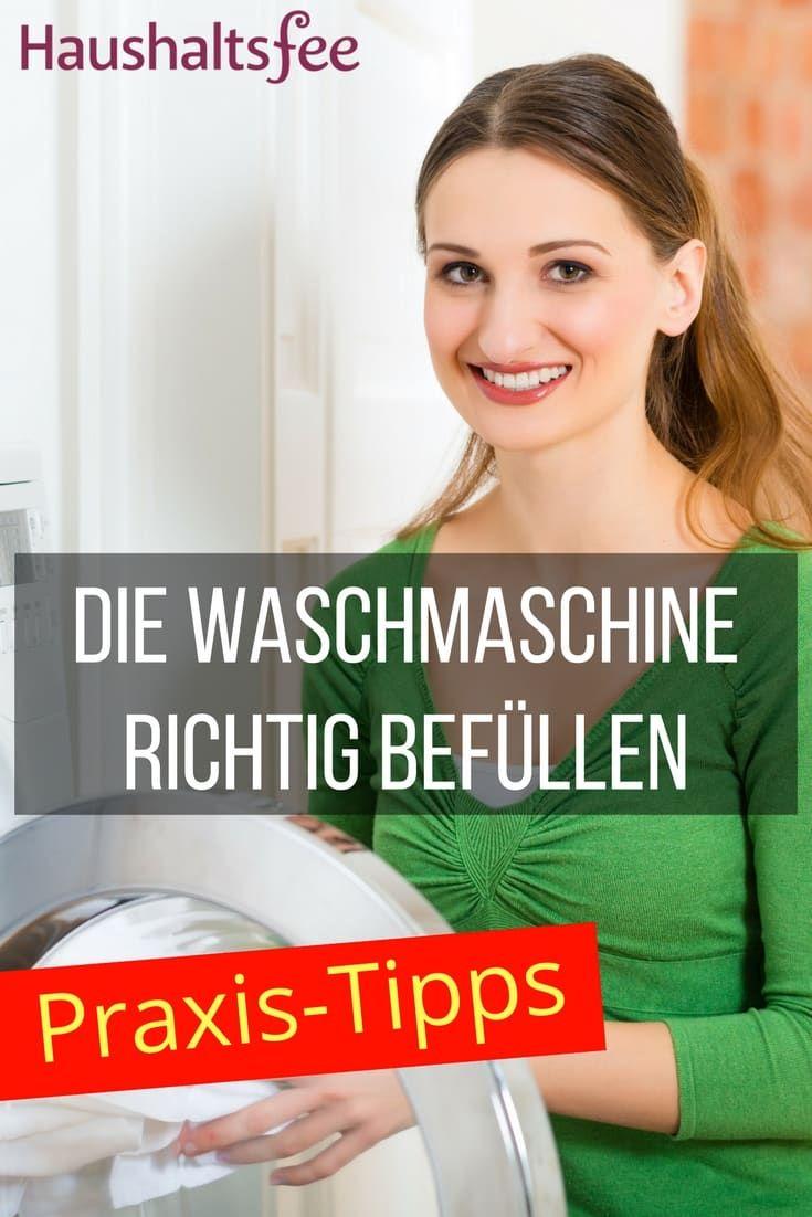 Waschmaschine Richtig Befullen Waschmaschine Haushaltsfee Und