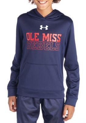 Gear For Sports Ole Miss Fleece Hood - Navy - Medium Average Or Medium Or Regular