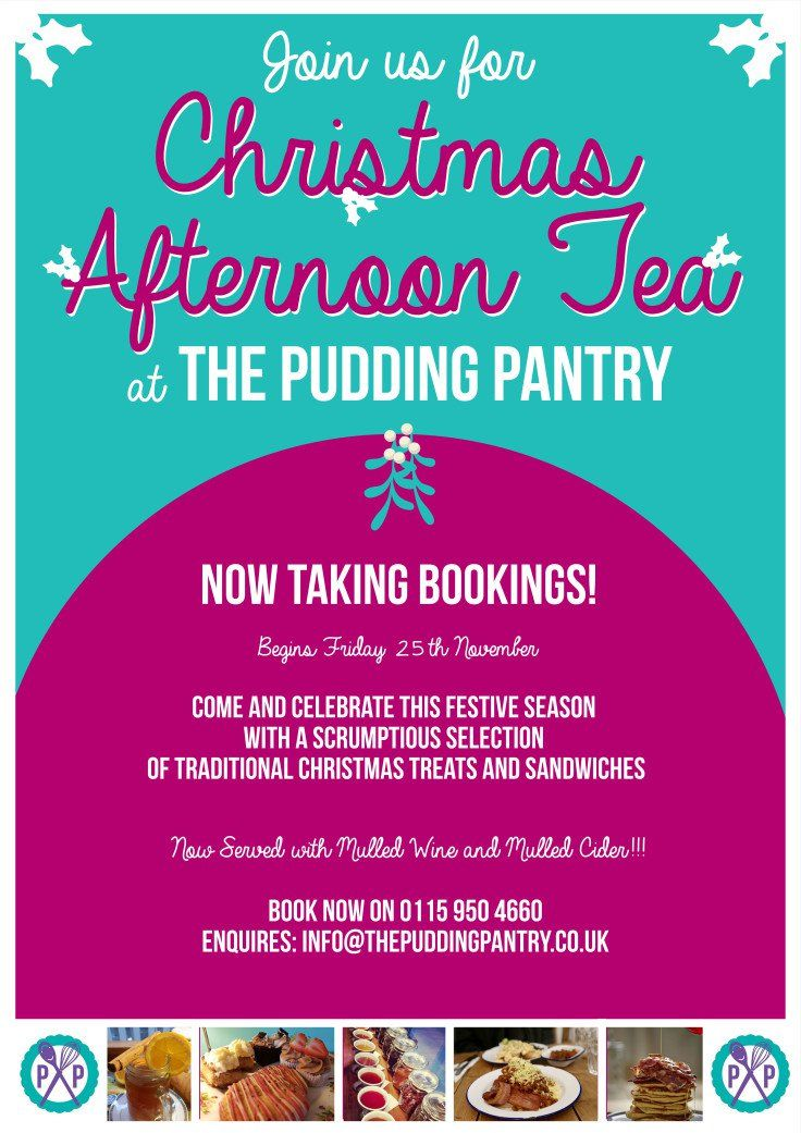 Win a Christmas Afternoon Tea for Two!