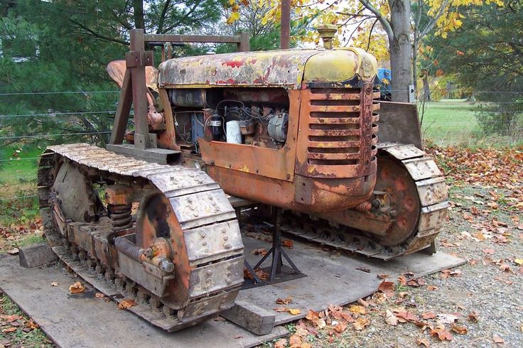 Oliver Crawler 6cyl.Gas OC6 Tractor Emplements Dozer Track