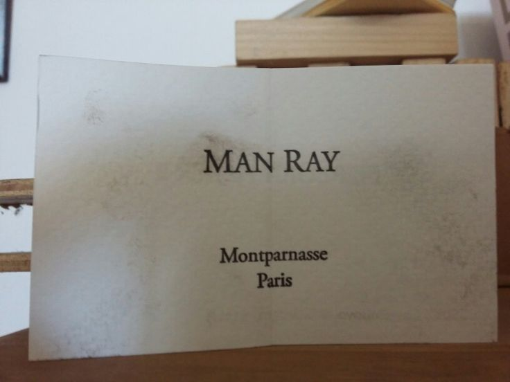 9 best baffigi museum images on pinterest museums embossed business card man ray private collection tipografia baffigi reheart Images