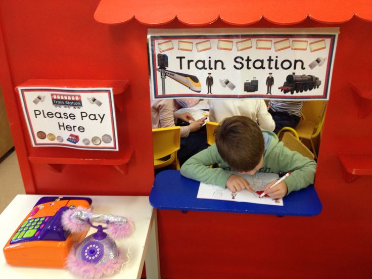 train station dramatic play area driverlayer search engine. Black Bedroom Furniture Sets. Home Design Ideas