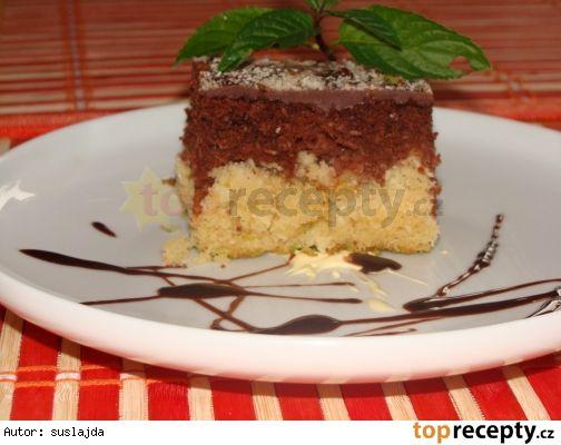 Rychlý kokosovo-ananasový koláč