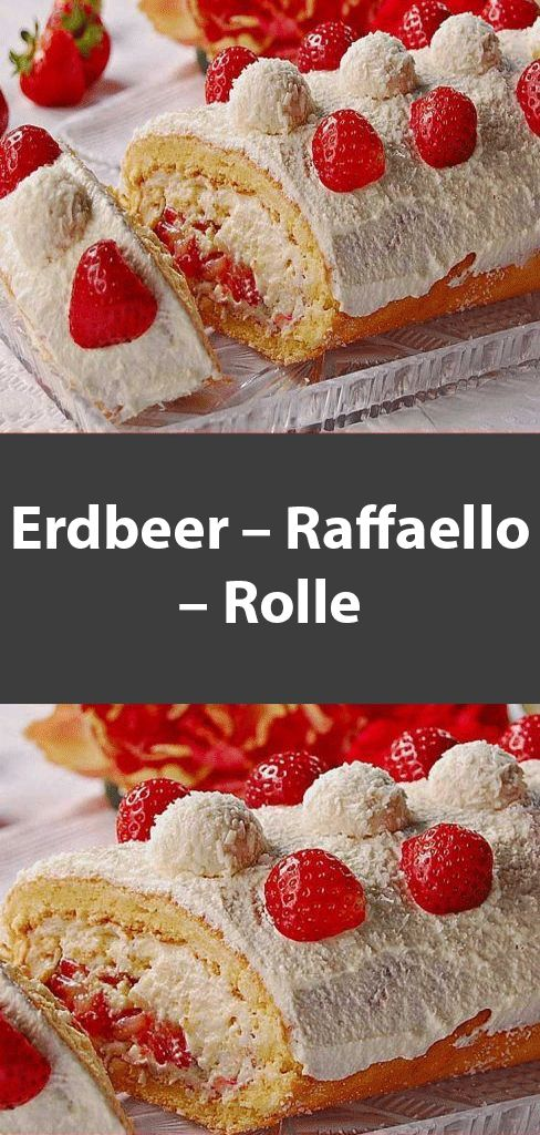 Erdbeer – Raffaello – Rolle
