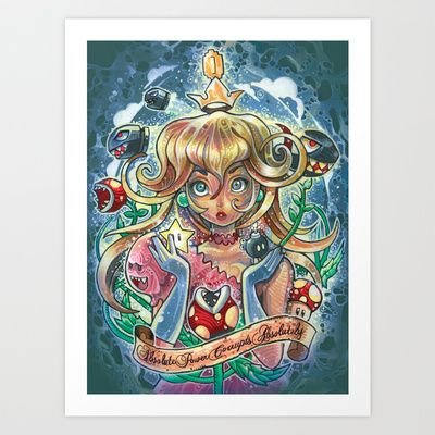 absolute power corrupts absolutely Art Print by Tim Shumate - $19.76