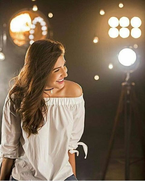 The beautiful Anushka Sharma smile on the sets of a recent shoot for sultan in mumbai.