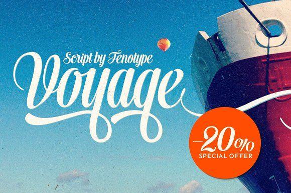 Voyage Summer Sale $40 (-$10 off) by Fenotype on @creativemarket