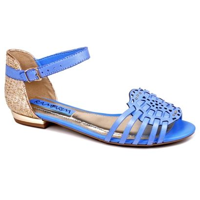 Compre Rasteira Ramarim Huarache Azul na Zattini a nova loja de moda online da…