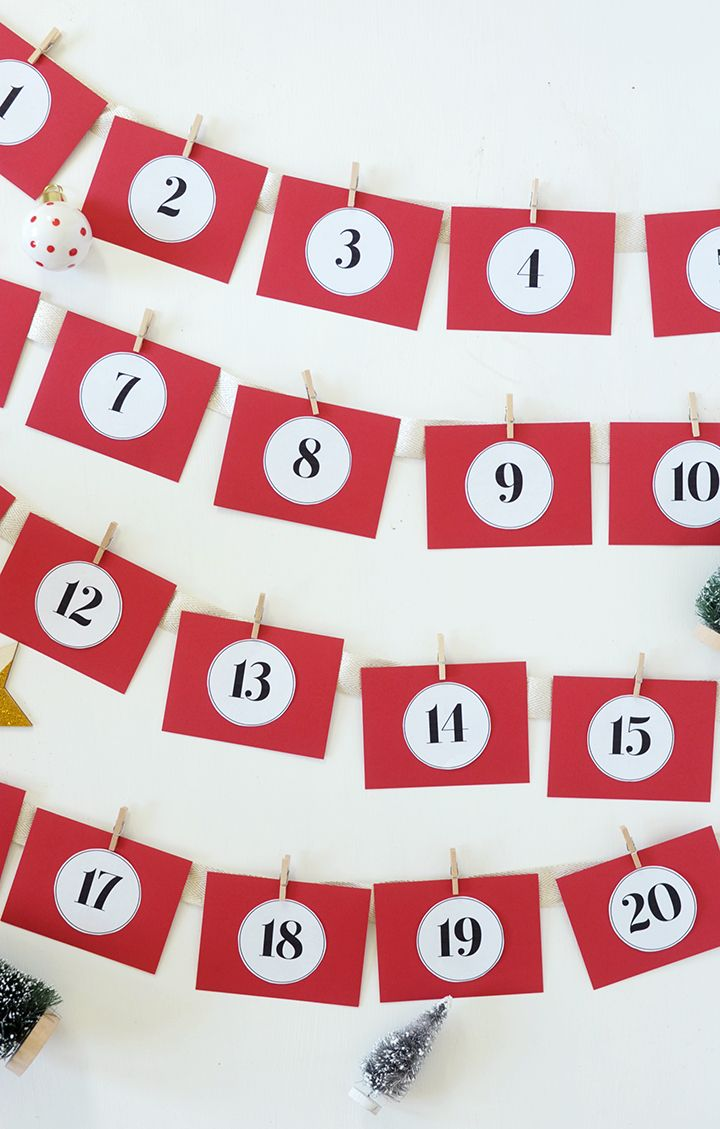 DIY Acts of Kindness Advent Calendar