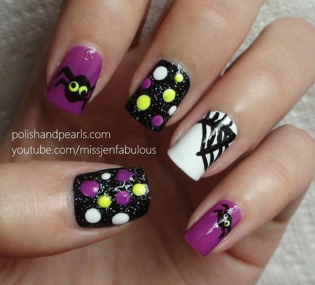 323 Best Halloween Nails Images On Pinterest