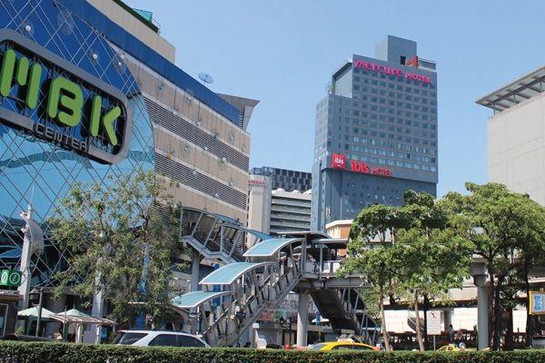 Mercure Bangkok Siam dan ibis Bangkok Siam, Dua Hotel di Satu Gedung