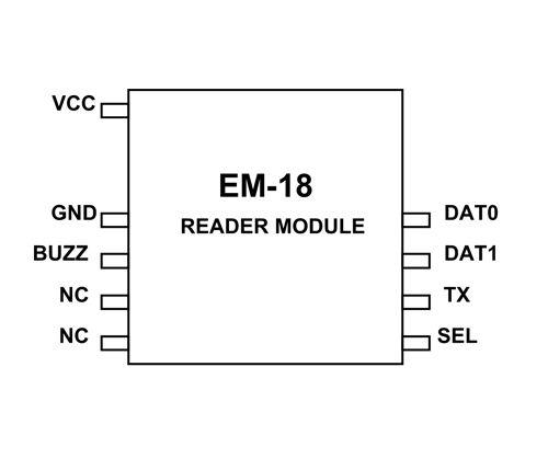em18 rfid reader moduel application circuit