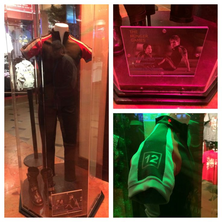 Josh Hutcherson's (Peeta) costume from The Hunger Games training sequence
