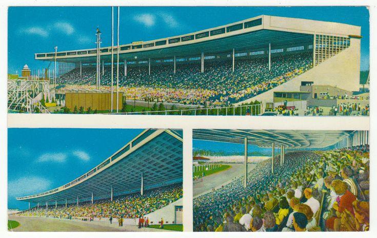 Postcards - Canada # 196 - The Grandstand, CNE, Toronto Ontario