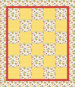 Patterns frequently used by Quilts for Kids volunteers