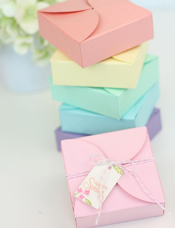 Pretty Petal Boxes for those Special Treats!!!