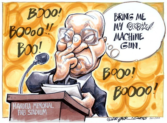 Cartoon: Zuma's 'sign'