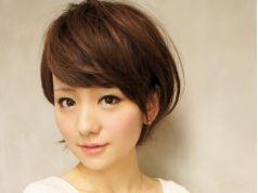 【艶と痛み方が違う♪】艶ツヤ白髪染め+小顔カット+潤いTR ¥12490→¥8980