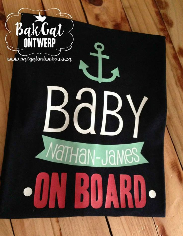 Personalised clothing #pregnant #baby #babyonboard