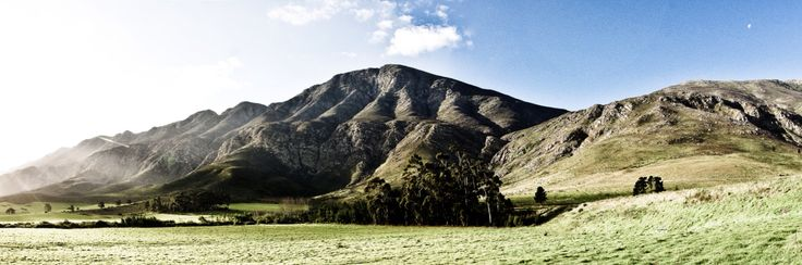 Mountain range, Montague , South Africa