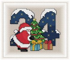 Advent Calendar - Motif 24 This will get me to all 24 days and their patterns to make a calendar.