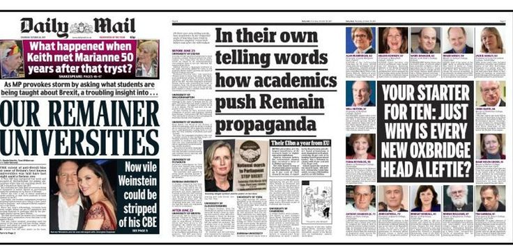 Then they came for the experts: how the Daily Mail is threatening how you think  The paper's attack on academics who take a pro-Brexit line should be seen for what it is: hypocritical bullying.