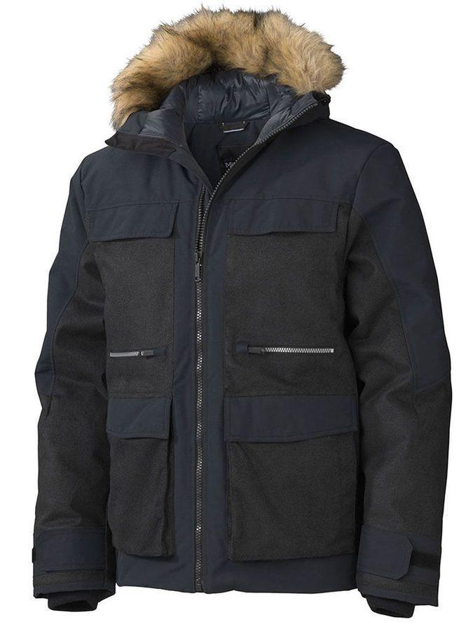 Marmot Men S Telford Winter Jacket Black Xl 785562502512 Ebay Telford Winter Apos Black Outerwear Winter Jackets Jackets